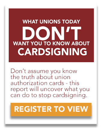 Union Authorization Cards