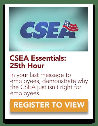 CSEA 25th Hour