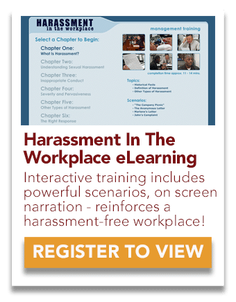 harassment eLearning