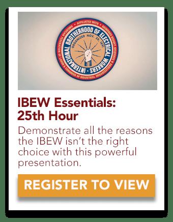IBEW 25th Hour Video
