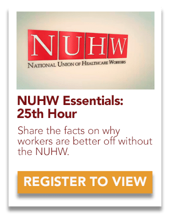 NUHW 25th Hour video