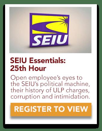 SEIU 25th Hour Video