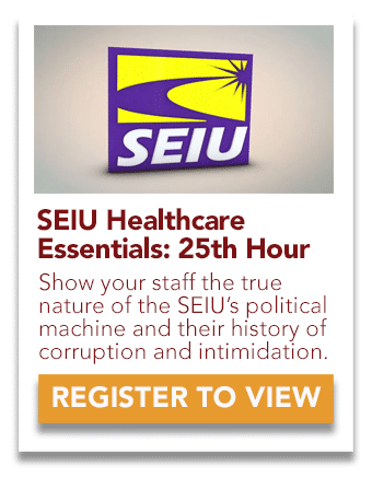 SEIU Healthcare 25th Hour