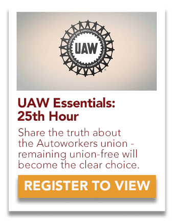 UAW 25th Hour Video