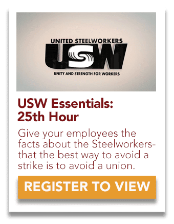 USW 25th Hour Video