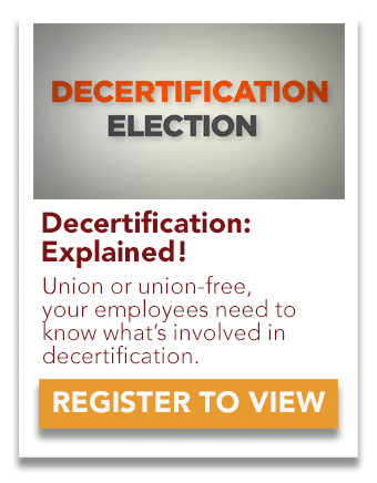 Decertification Explained