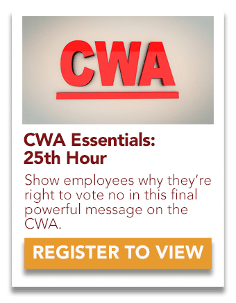CWA 25th Hour Video