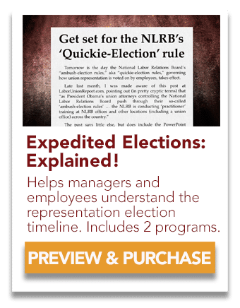 Expedited Elections Explained