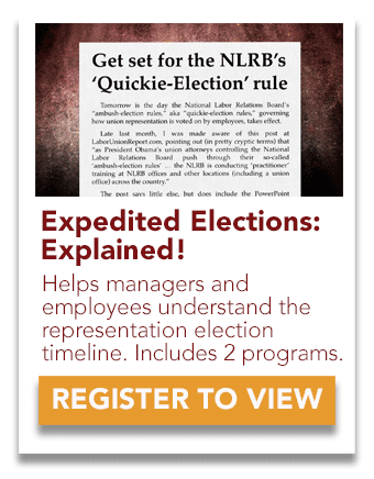 Expedited Elections, Explained
