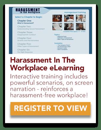 harassment eLearning