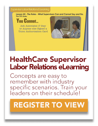 Health Care Supervisor Labor Training