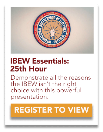 IBEW 25th Hour Video