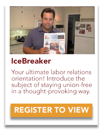 icebreaker labor relations orientation