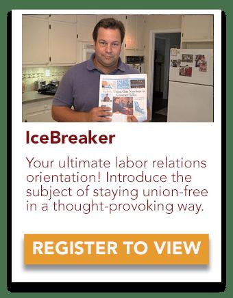 icebreaker labor relations orientation