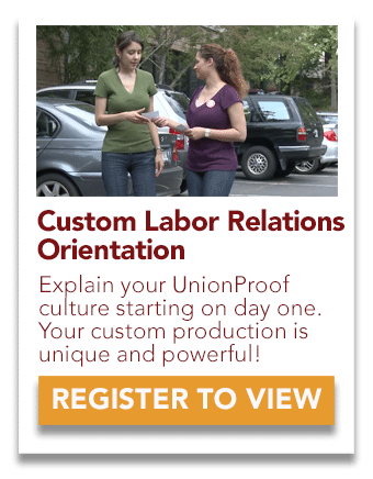 custom labor relations orientation