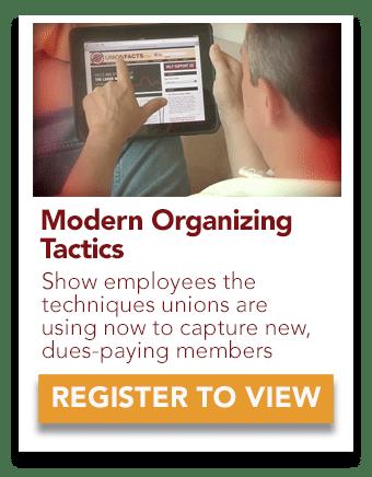 modern union organizing
