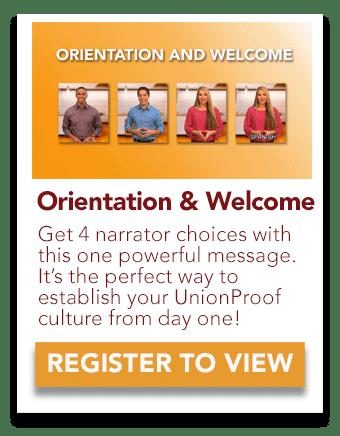new hire orientation