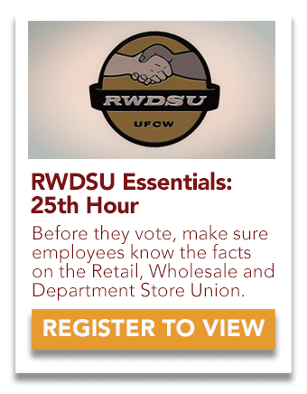 RWDSU 25th Hour video