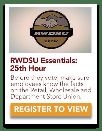 RWDSU 25th Hour video