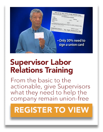 Supervisor Labor Relations Training