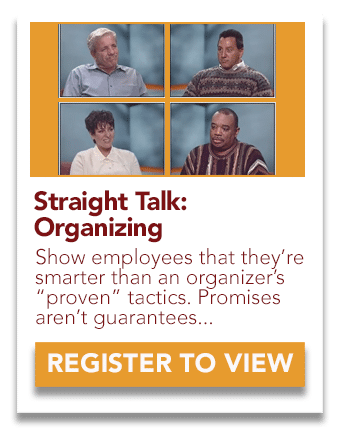 Straight Talk: Union Organizing