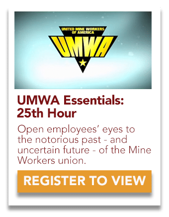 UMWA 25th Hour Video
