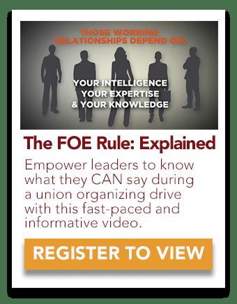 The FOE Rule, Explained
