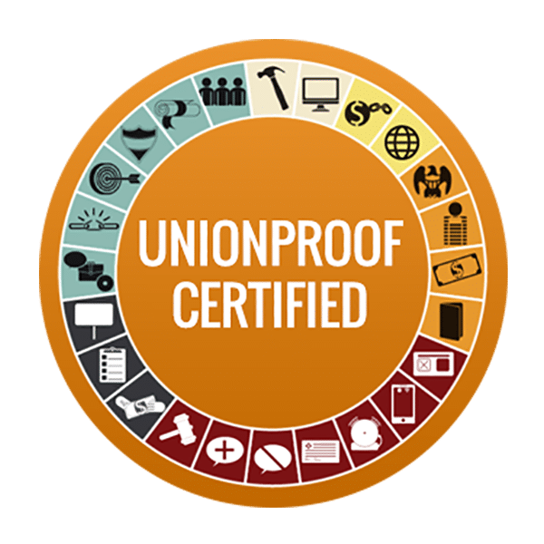 UnionProof Certified Badge