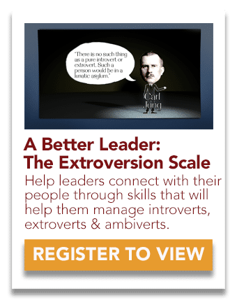 Leadership: Extroversion