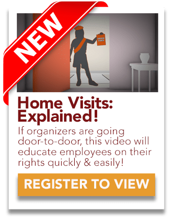 Home Visits Union Organizers