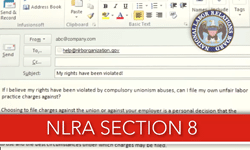 NLRA Section 8
