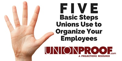 union organizing steps