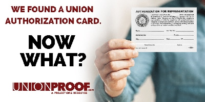 Union Authorization Cards